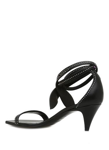 Saint Laurent Sandalet Siyah